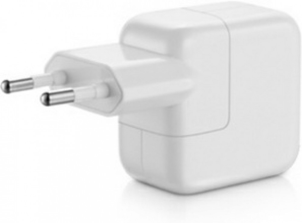 12W USB Strömadapter, iPad, iPhone, vit