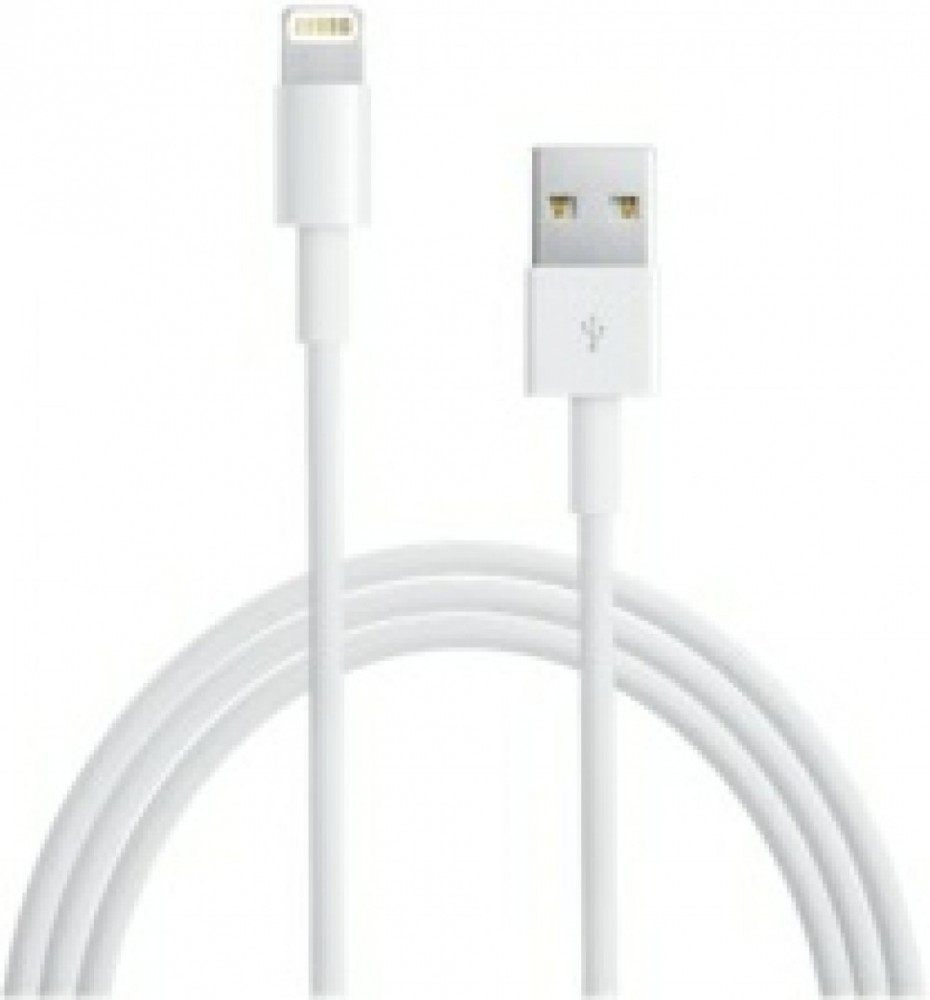 Apple USB till lightning-kabel, 1m, vit