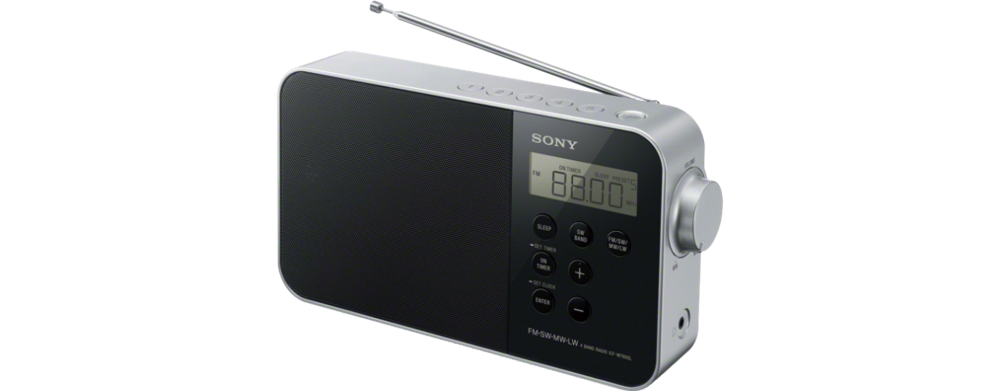 Sony ICFM780SL Black