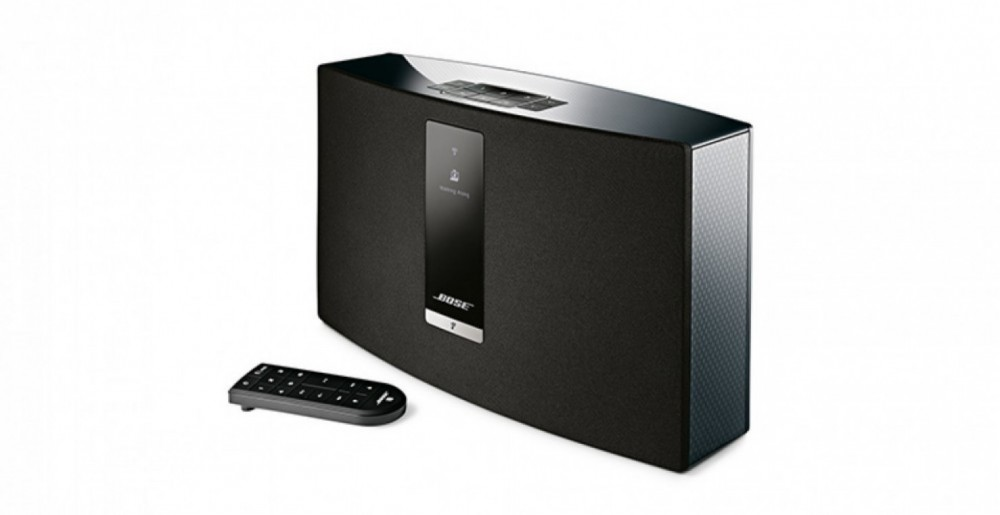 bose soundtouch iii 30 wi fi musiksystem p o radio tv. Black Bedroom Furniture Sets. Home Design Ideas