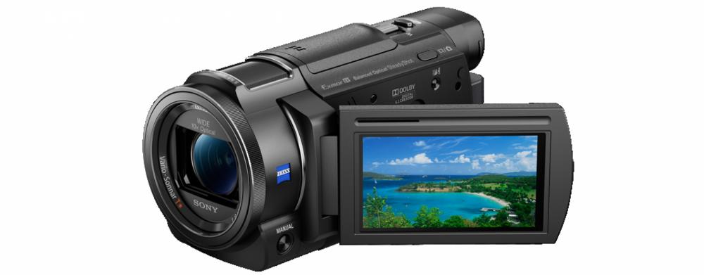 Sony FDRAX33B.CEN 4K Handycam® med Exmor R® CMOS-sensor