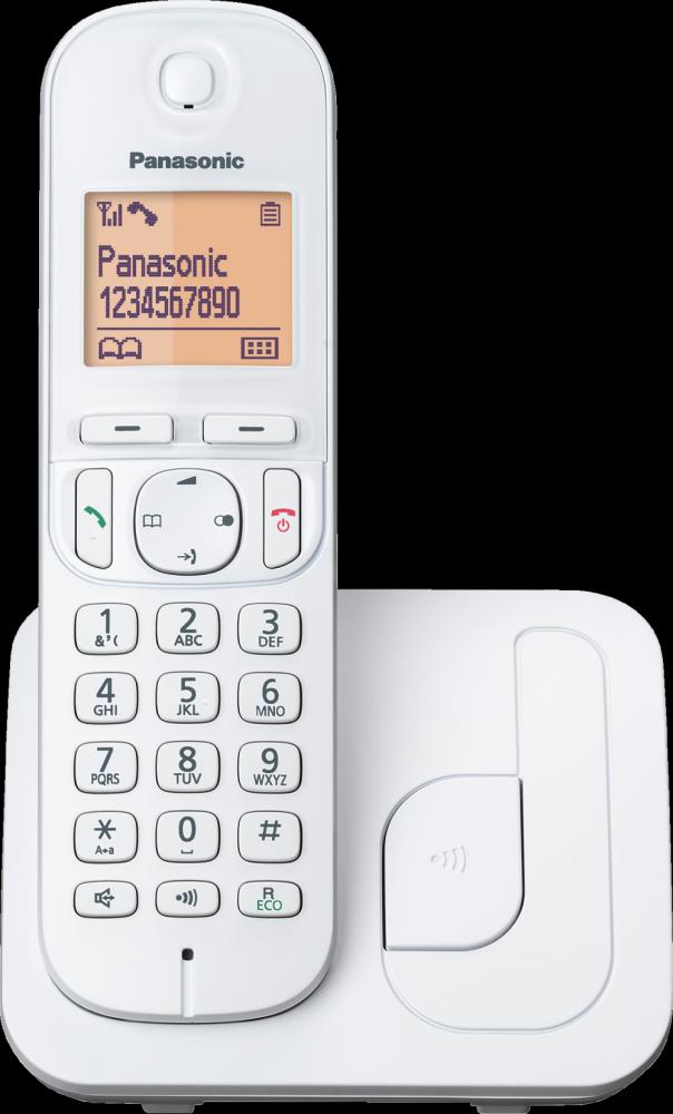 Panasonic TRÅDLÖS TELEFON KX-TGC210  WHITE