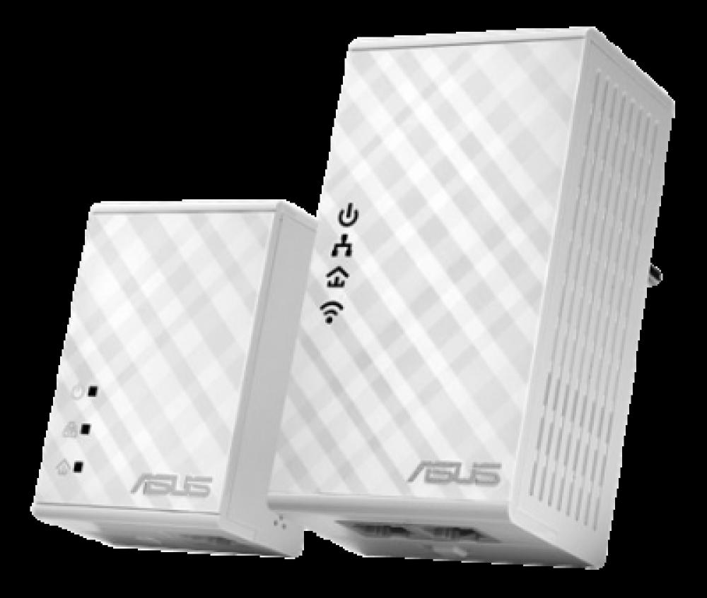 ASUS PL-N12KIT HOMEPLUG-KIT MED  WI-FI, 500MBPS