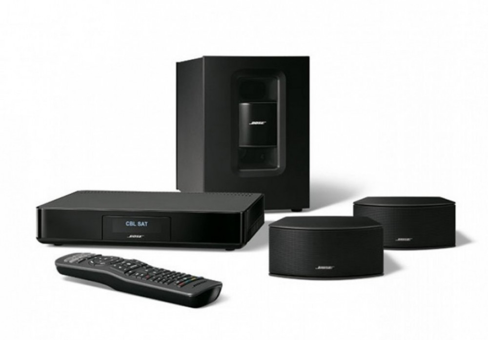 bose cinemate 220 svart p o radio tv. Black Bedroom Furniture Sets. Home Design Ideas