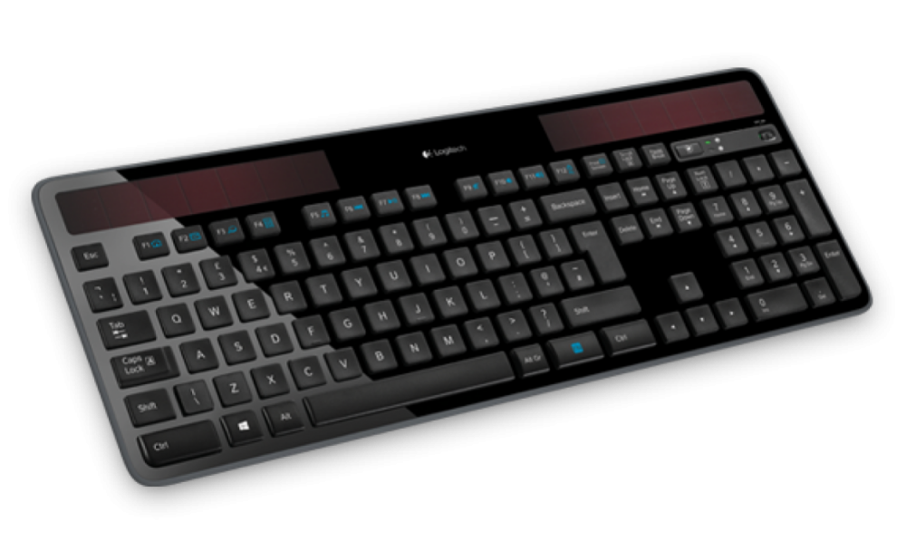 Logitech K750 SOLAR WIRELESS KEYBOARD NORDIC BLACK 920-002925