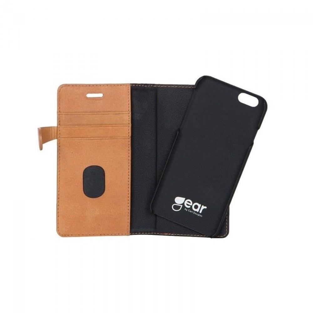Gear Plånboksväska Buffalo Cognac iPhone 6 4,7