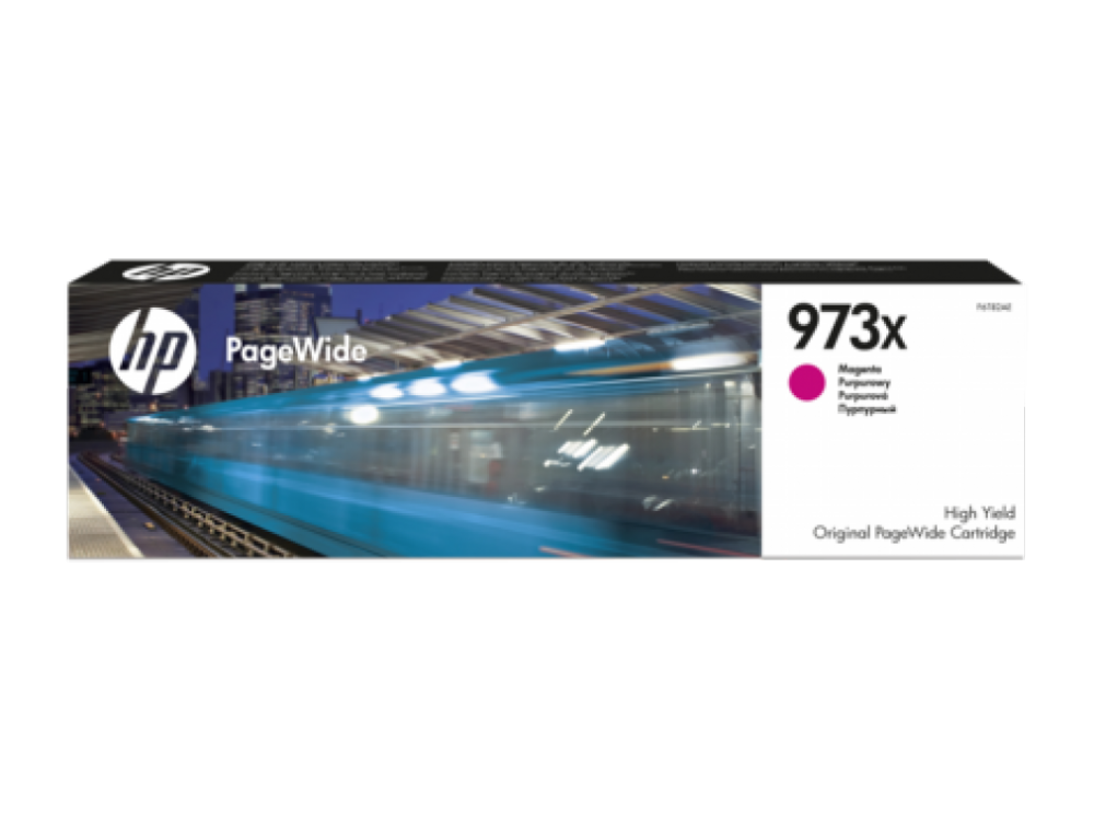 HP 973X HY MAGENTA ORIGINAL CARTRIDGE PW
