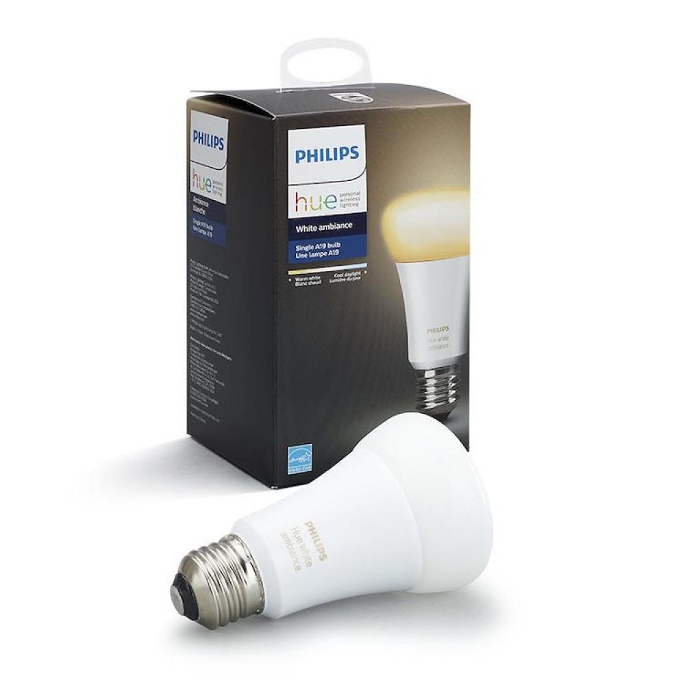 Philips HUE E27 VIT AMBIANCE 9.5W