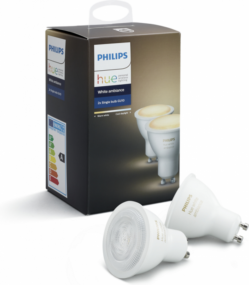 Philips HUE GU10 AMBIANCE 5.5W 2-PACK