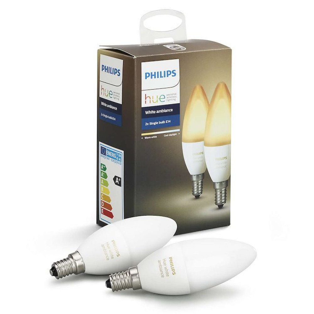 Philips HUE AMBIANCE 6W E14 2-PACK