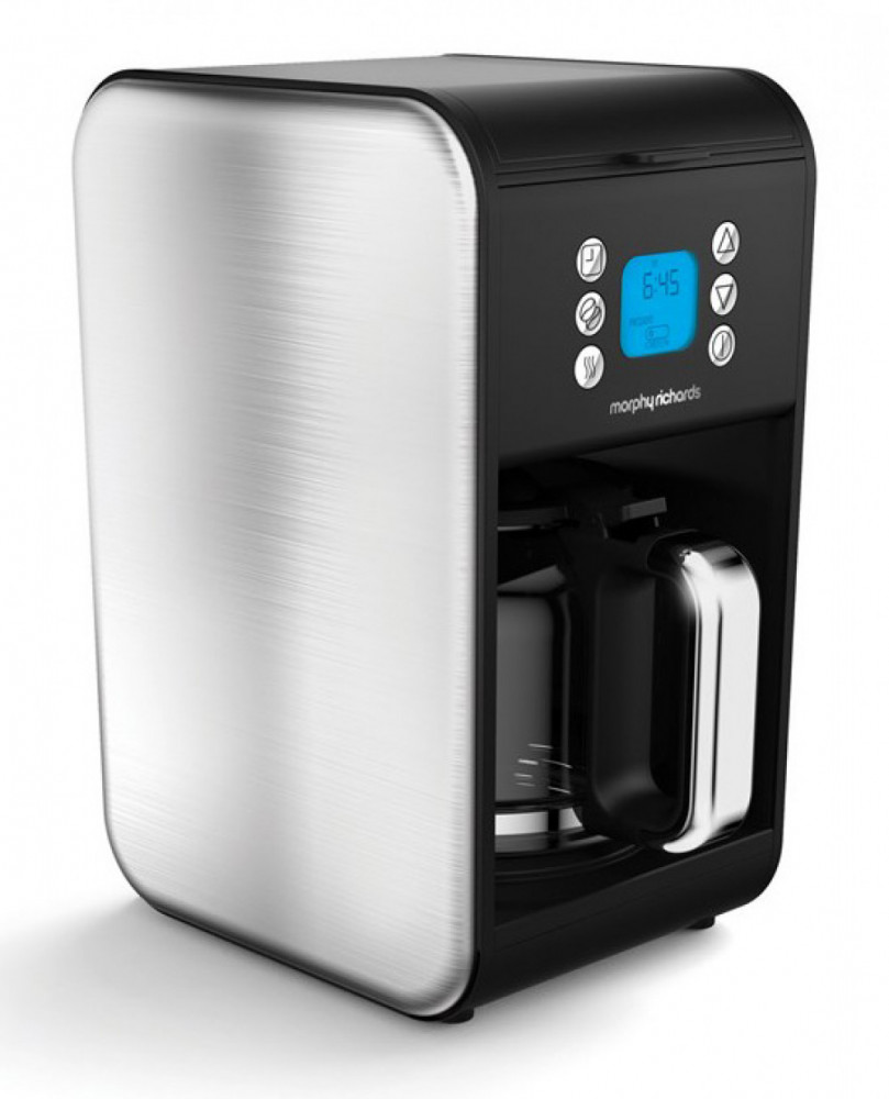 MORPHY RICHARDS ACCENT KAFFEBRYGGARE Silver