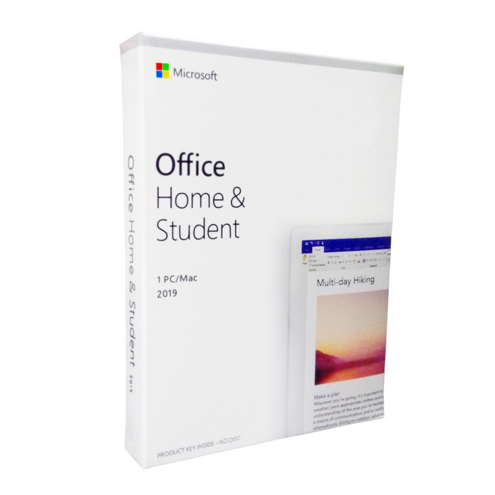 Microsoft MS OFFICE HOME & STUDENT 2019
