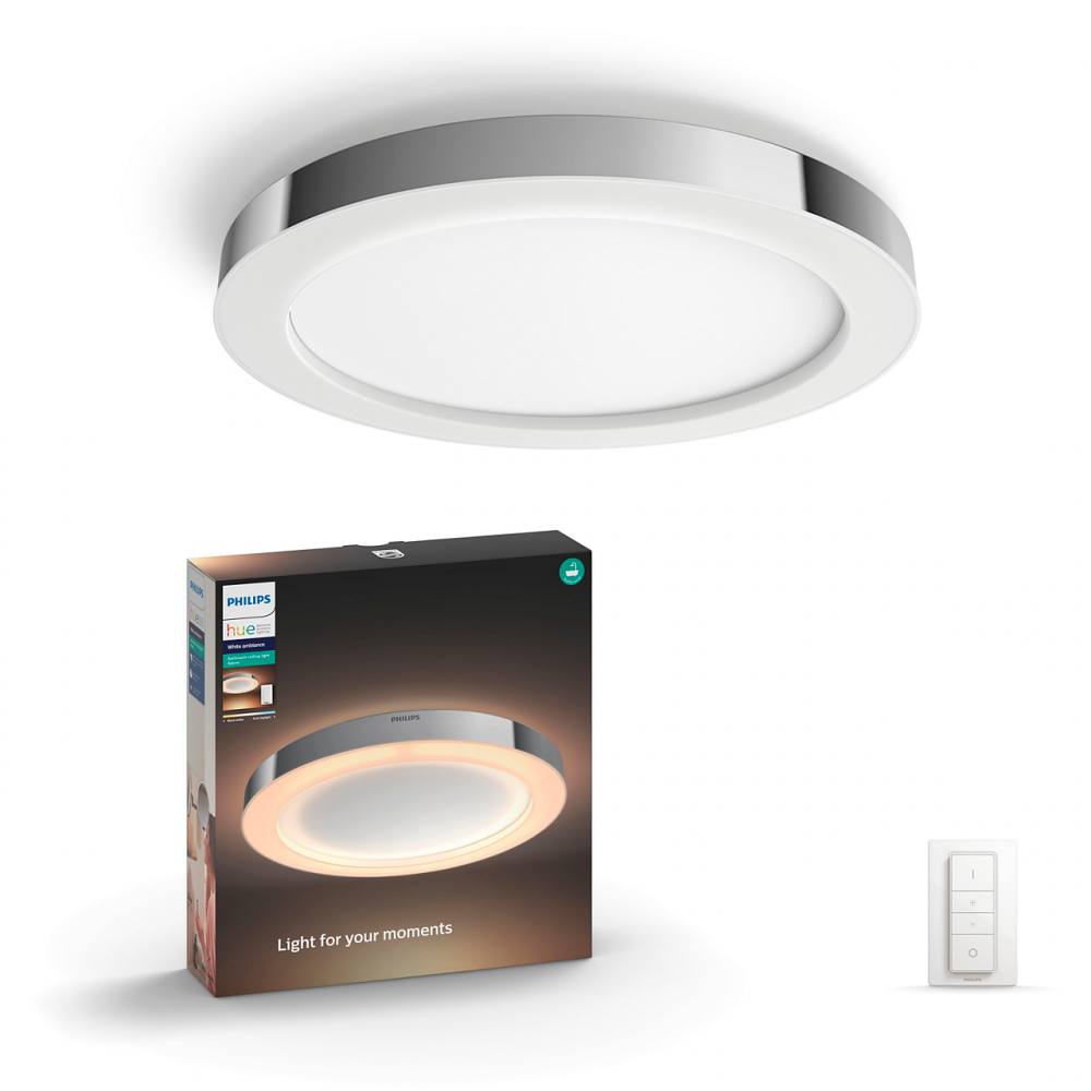 Philips HUE ADORE CEILING LAMP CHROME 1X40W