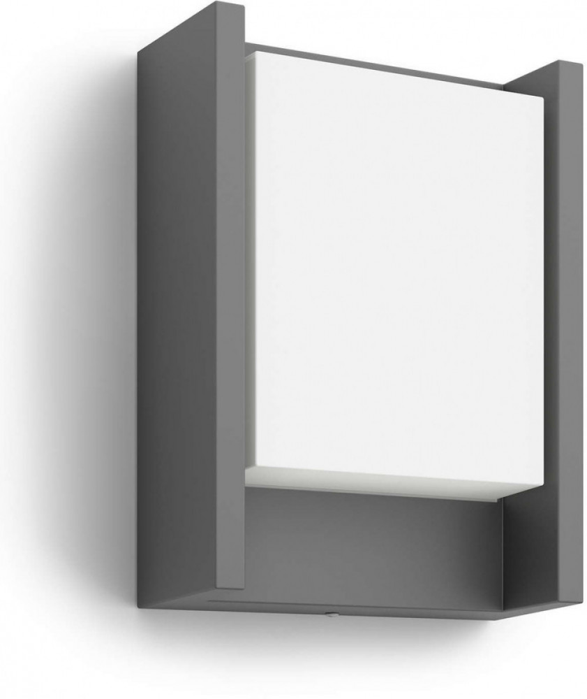 Philips ARBOUR WALL LANTERN ANTHRACITE 1X6W 230V