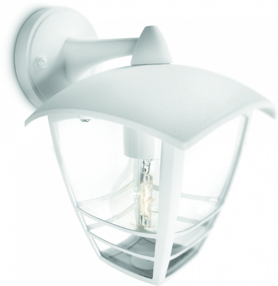 Philips CREEK WALL LANTERN WHITE 1X60W 230V