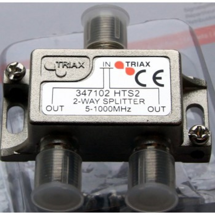 Triax 2-VÄGS SPLITTER