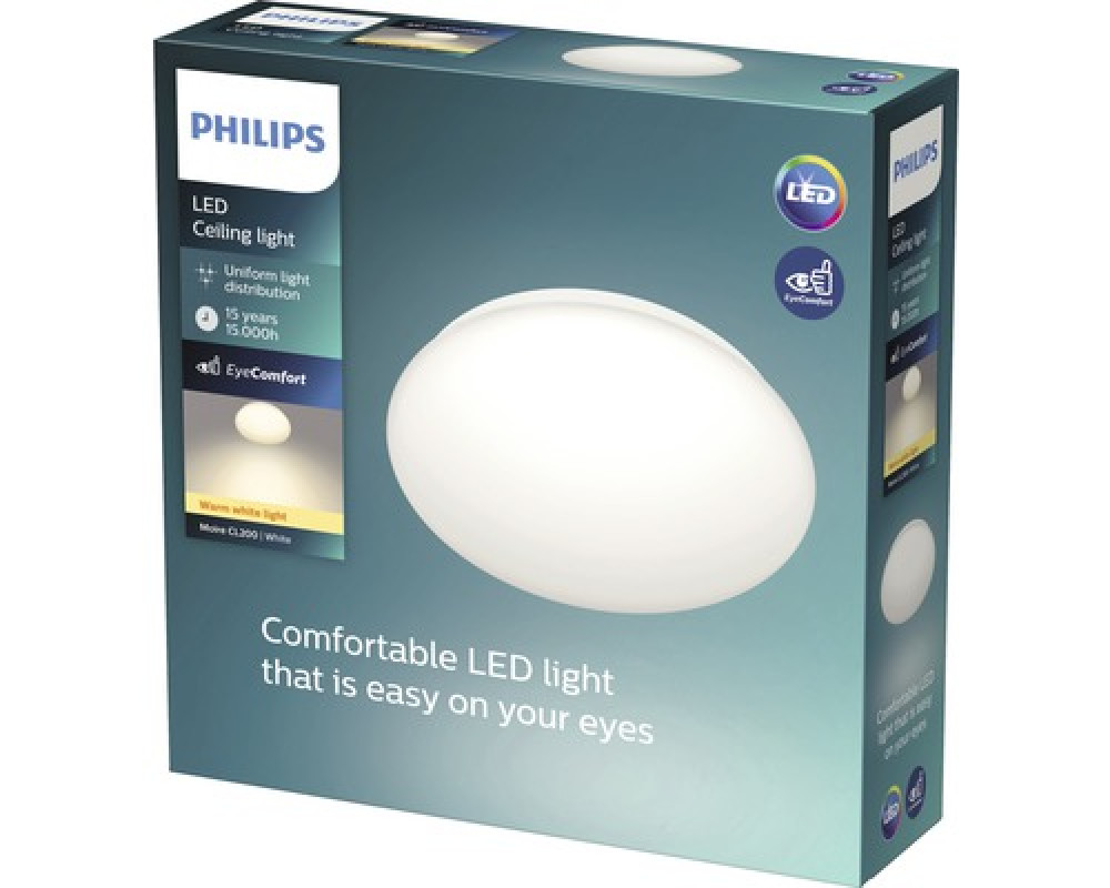 Philips LED TAKLAMPA 4X1.5W VIT
