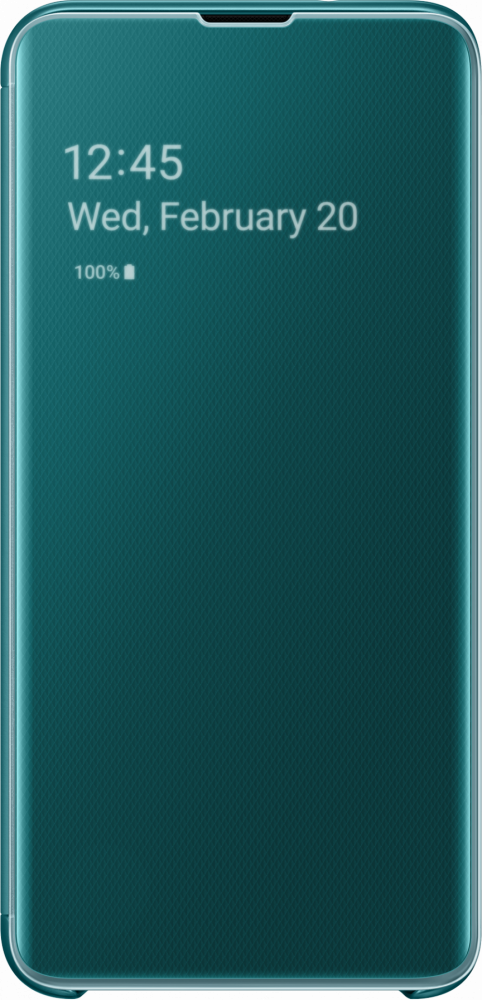 Samsung CLEAR VIEW COVER (GALAXY S10E GREEN)