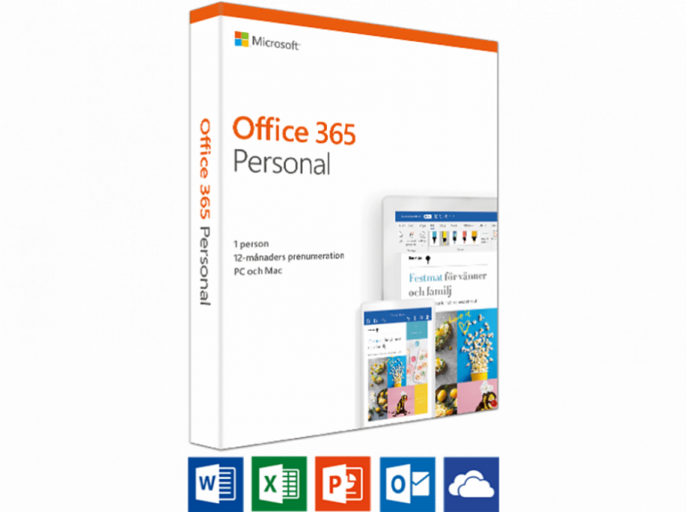 Microsoft OFFICE 365 PERSONAL 1ÅR