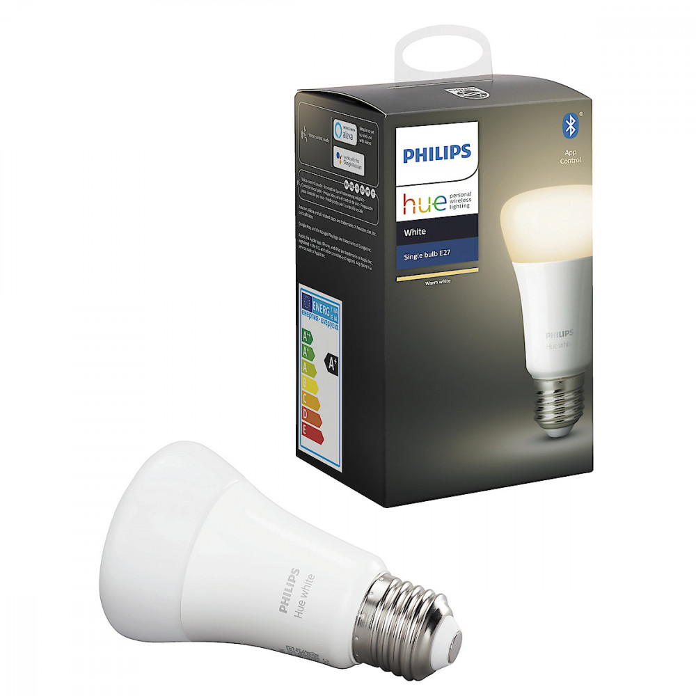 Philips HUE WHITE LED E27 9W A60 1-PACK