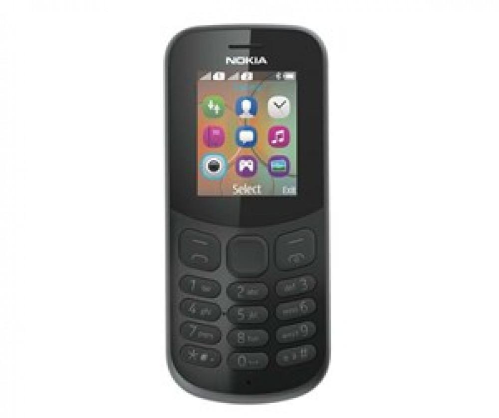 Nokia 130 DS SVART