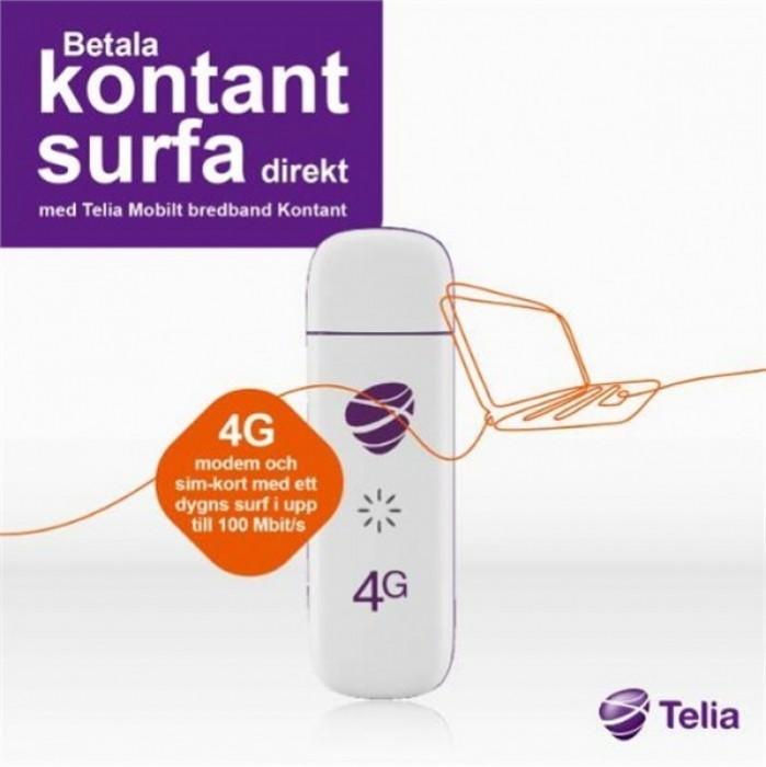 4g kontantkort mobilt bredband