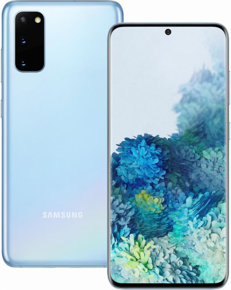Samsung GALAXY S20 4G 128GB Light Blue