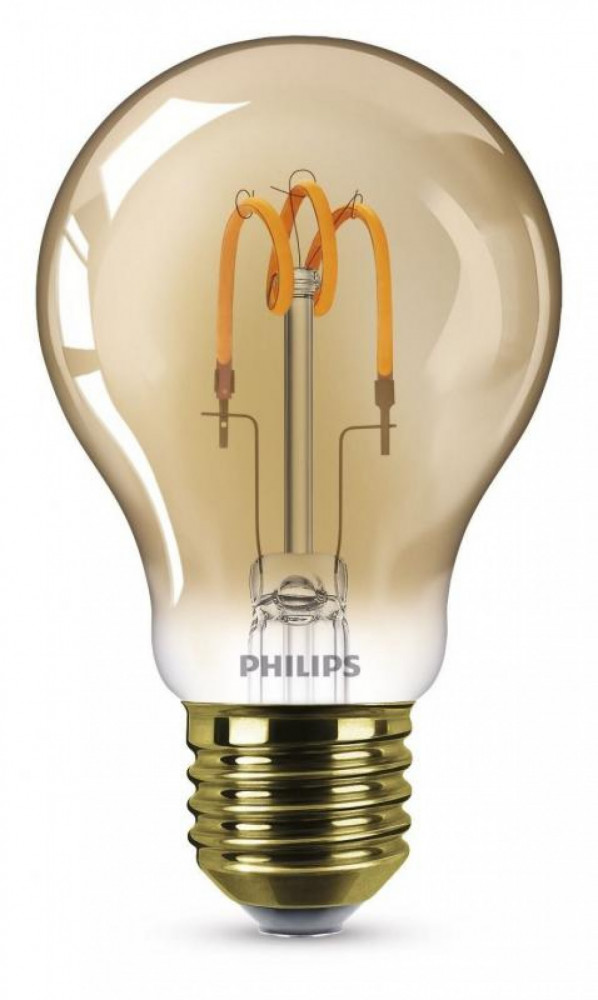Philips LED SP 15W A60 E27 GULD ND