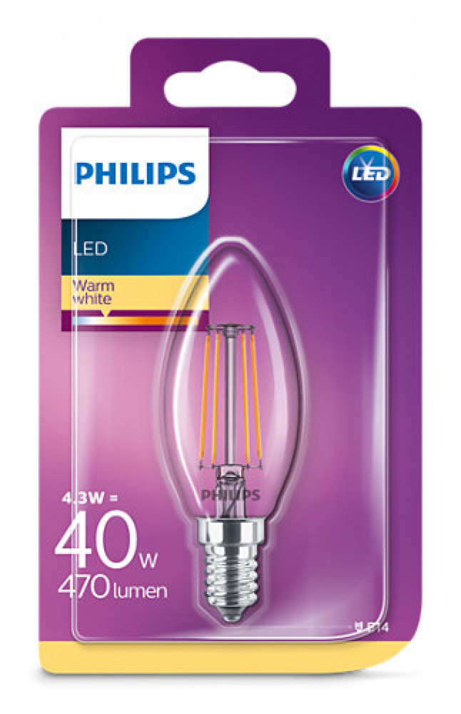 Philips LED KRON 40W E14 VV KL ND