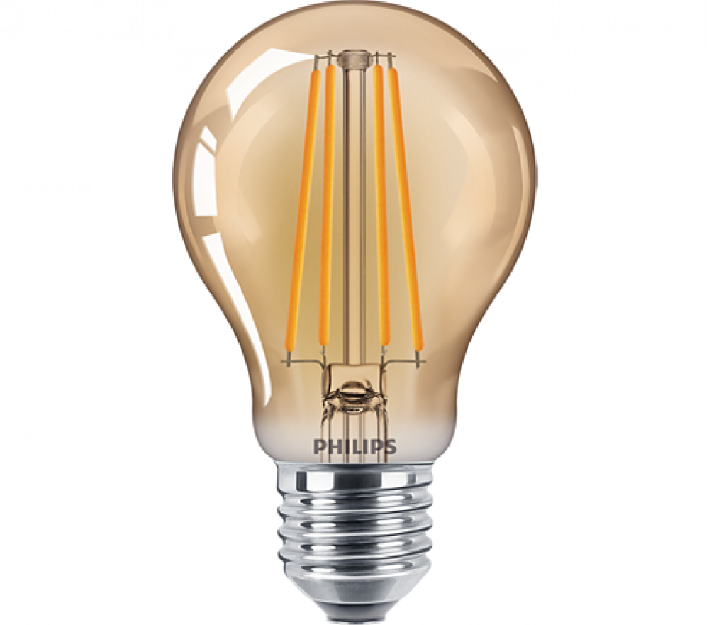 Philips LED NORM 825 GOLD A60 48W E27
