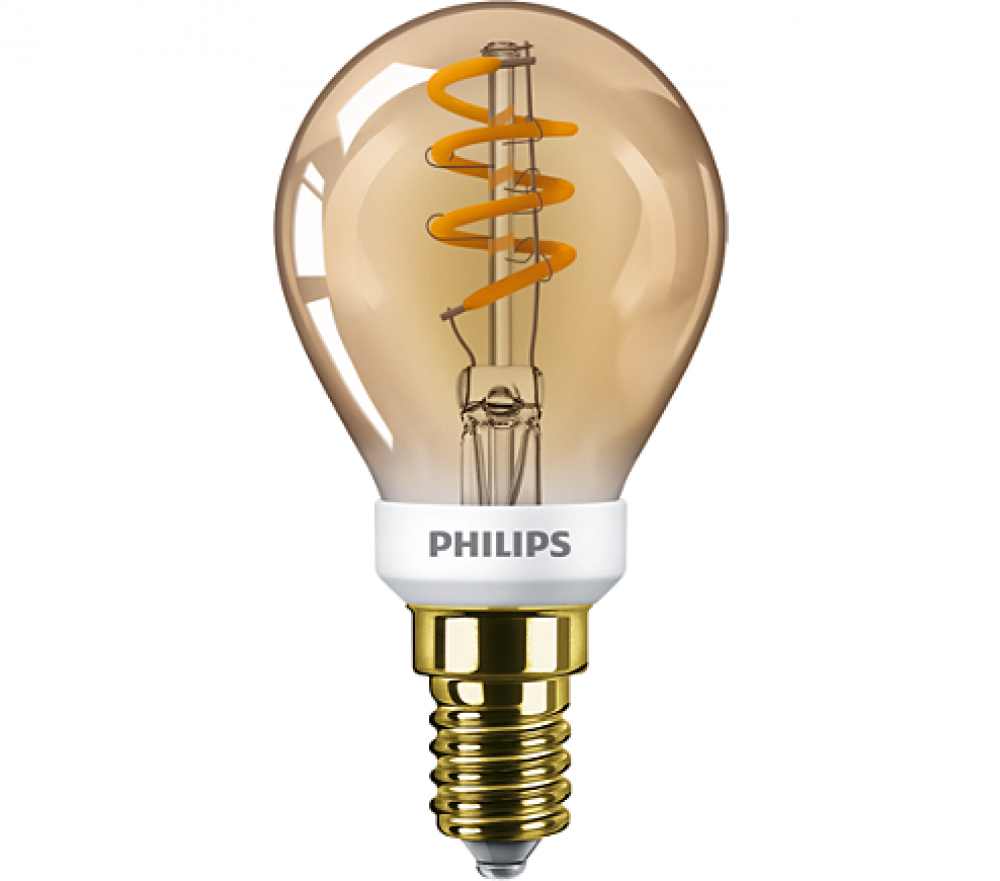 Philips LED KLOT P45 DIMBAR 15W E14 GOLD
