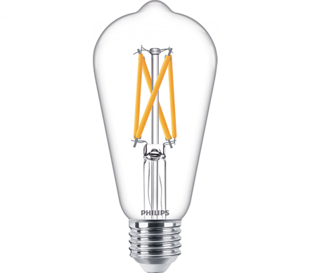 Philips LED EDISON ST64 60W E27 WGD90
