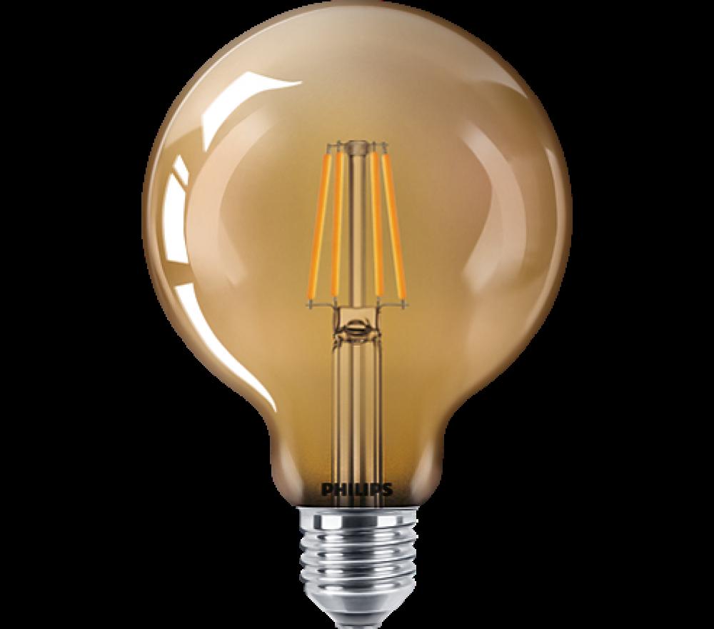 Philips LED GLOB G93 35W E27 825 GOLD