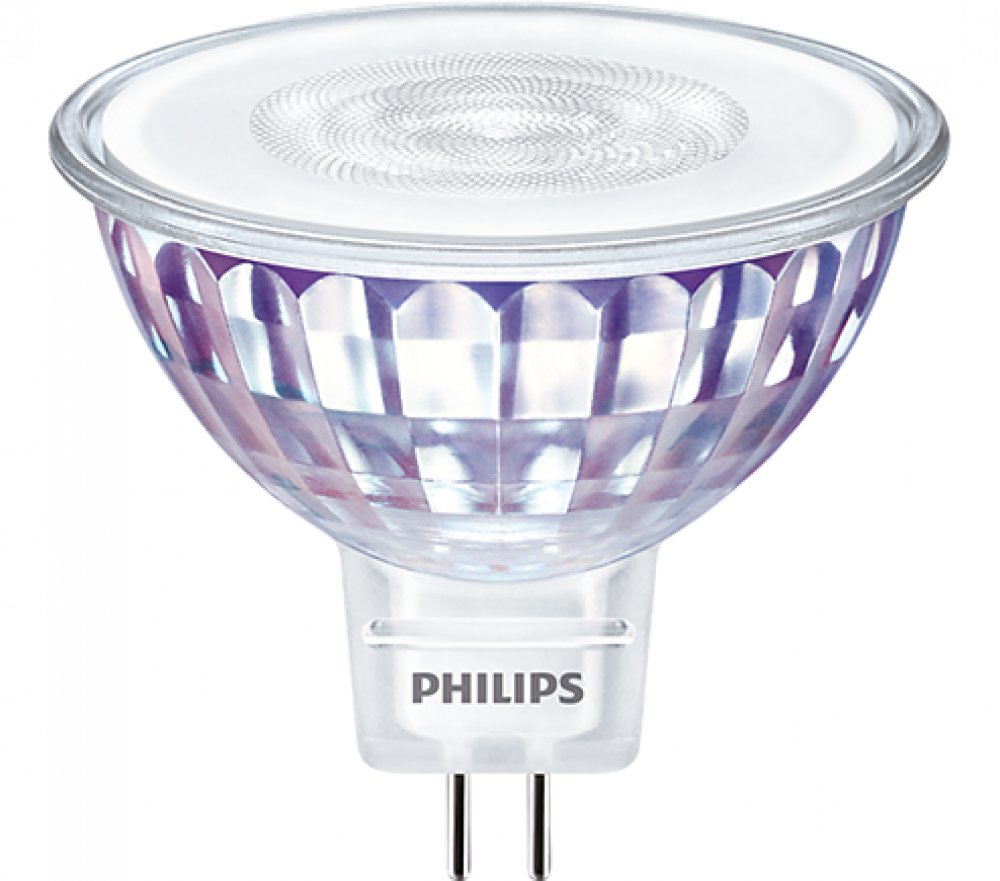 Philips LED GU5,3 MR16 35W WW WGD