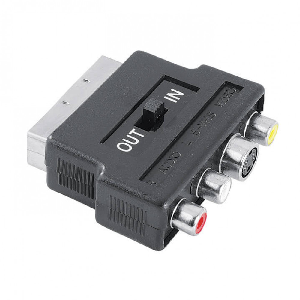 Hama Adapter 3xRCA & S-Video Scart Hane-Hona