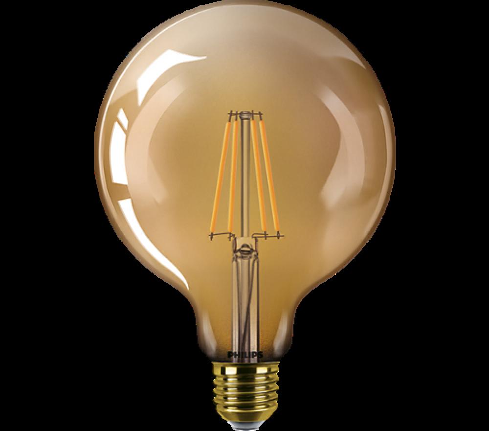 Philips LED CLASSIC 50W G120 E27 2200K GOLD 1PF