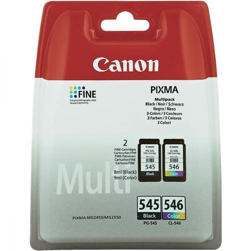 Canon PG-545/CL-546 MP INK CARTRIDGE