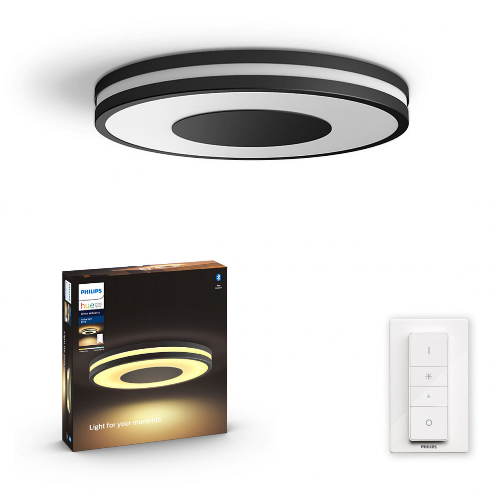 Philips BEING HUE CEILING LAMP BLACK 1X32W 24V
