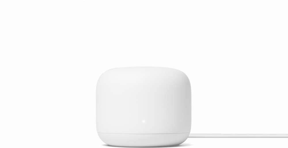 GOOGLE NEST WIFI ROUTER WHITE