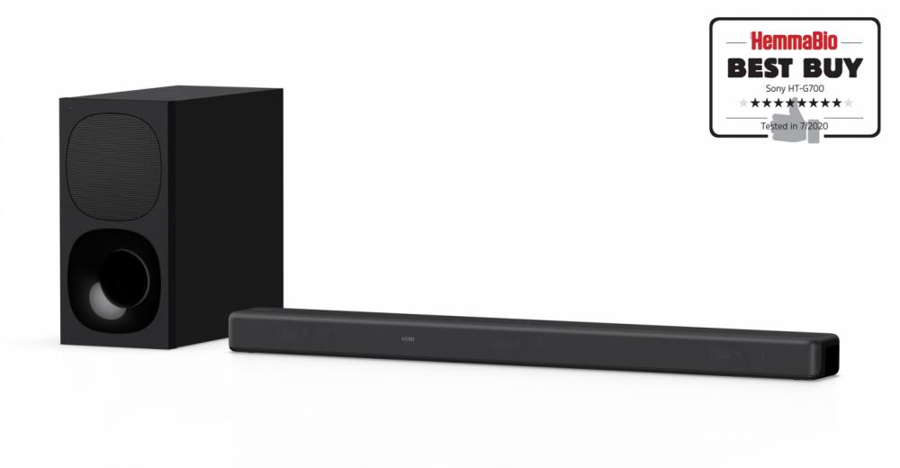 Sony HTG700 SOUNDBAR TRÅDLÖS SUBWOOFER
