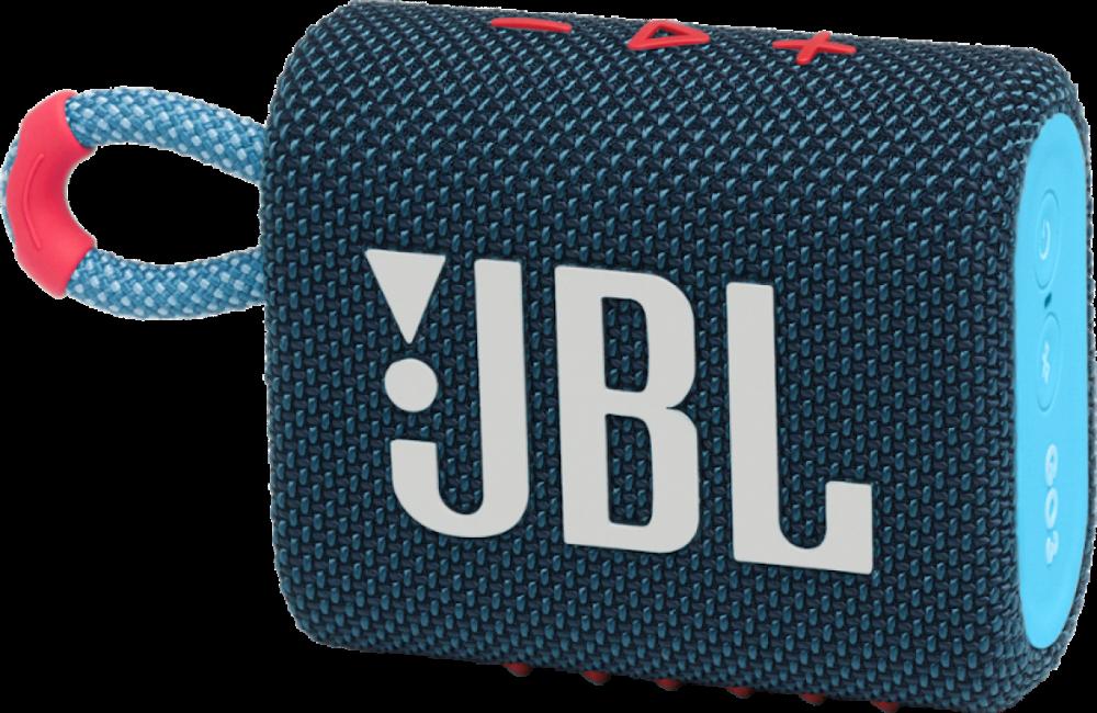 JBL GO 3 Blå/Rosa