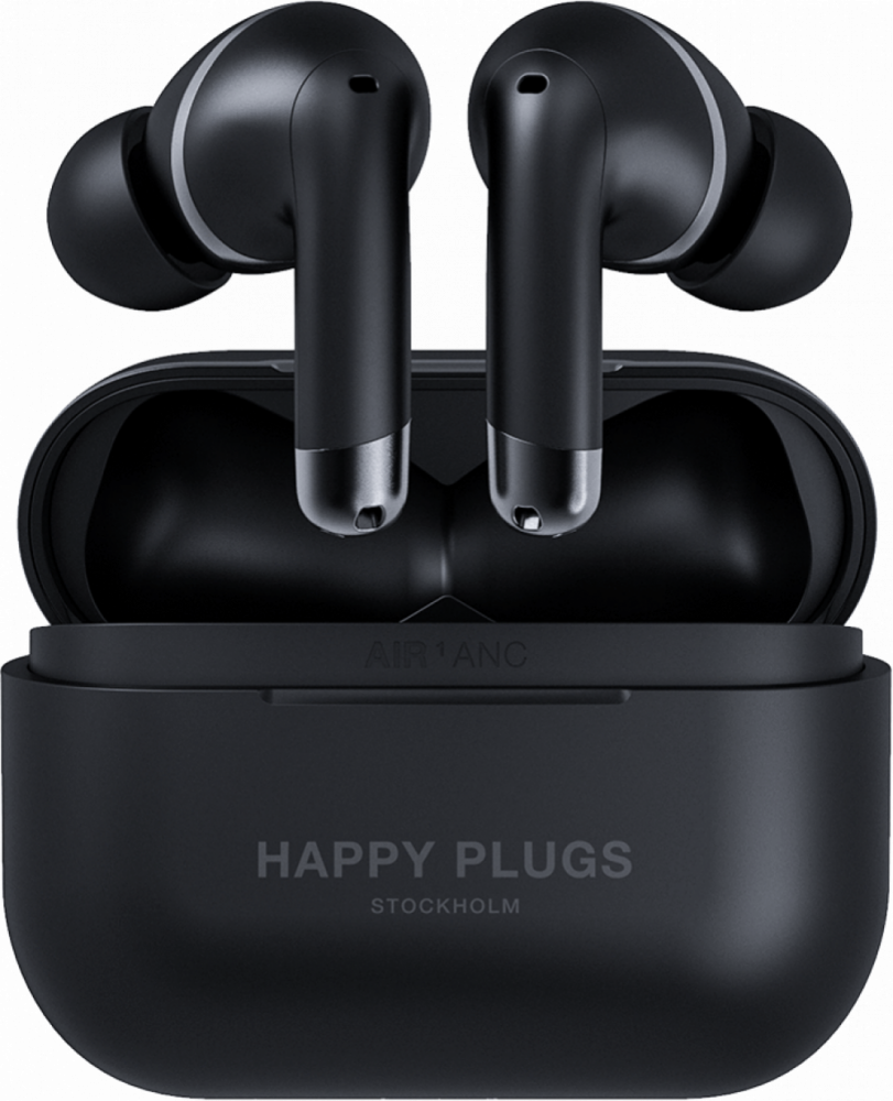 Happy Plugs AIR 1 ANC Svart