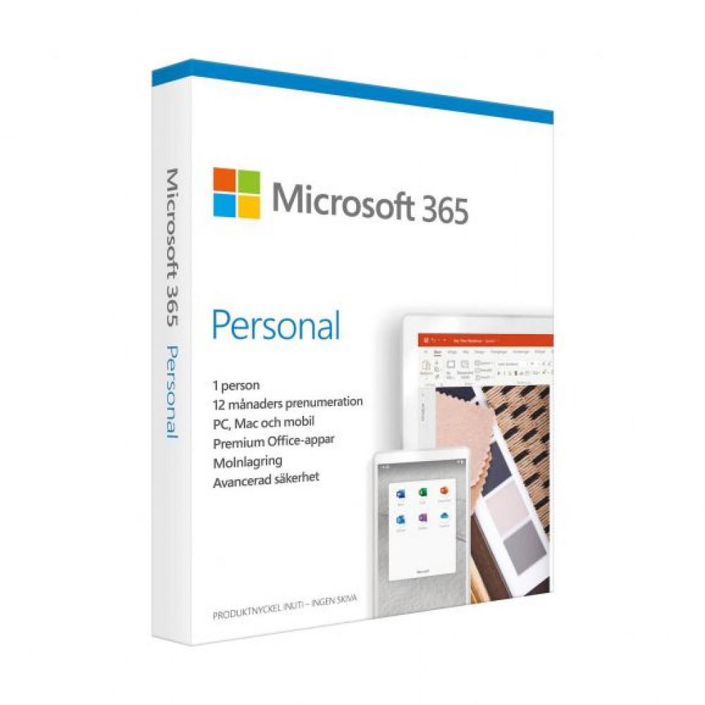 Microsoft 365 PERSONAL 1ÅR / 1 ANVÄNDARE