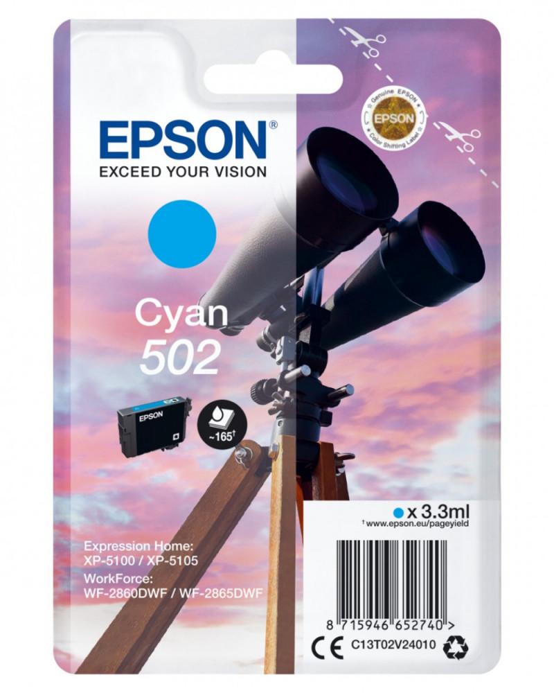 Epson T502 CYAN INK CARTDRIDGE
