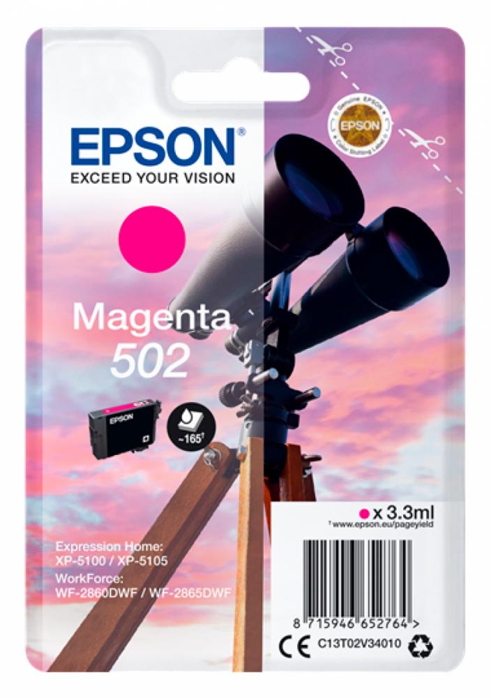 Epson T502 MAGENTA INK CARTDRIDGE