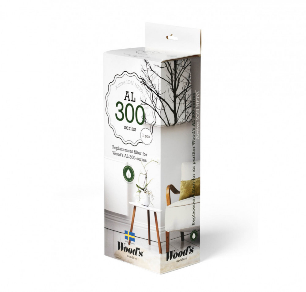 Woods WHE301 ACTIVE ION HEPA FILTER 300-SERIEN