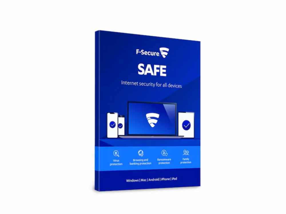 F-Secure SAFE 1 ÅR 3 ENHETER