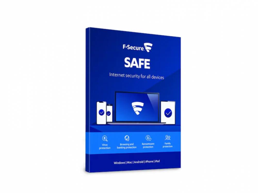 F-Secure SAFE 1 ÅR 1 ENHET