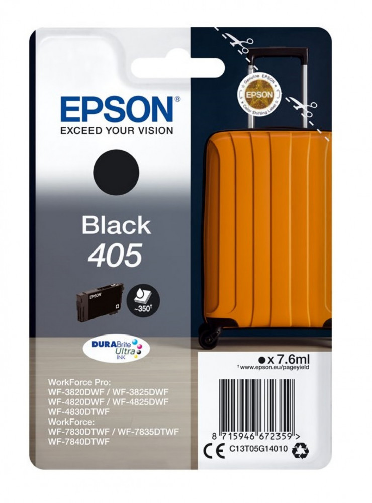 Epson T405 BLACK INK CARTDRIDGE